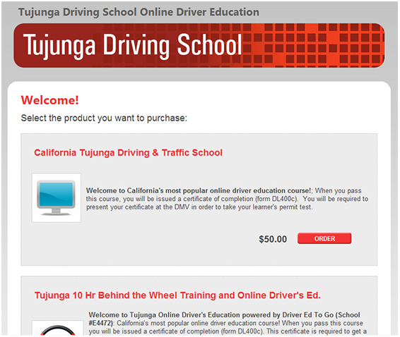 online drivers ed with dmv certificate of completion